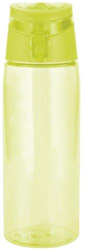 Zak Designs 0204-K950 Sportflasche, 750 ml, Grün/transparent