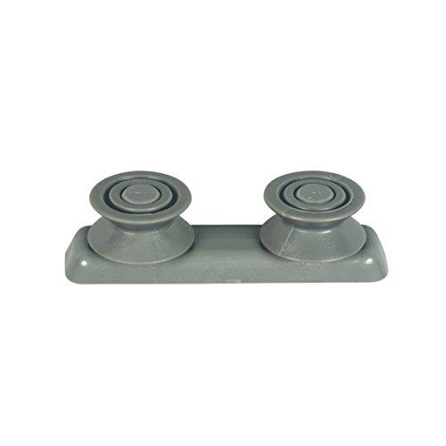 Gorenje 244489 - Rueda para cesta de platos, con 2 ruedas para lavavajillas