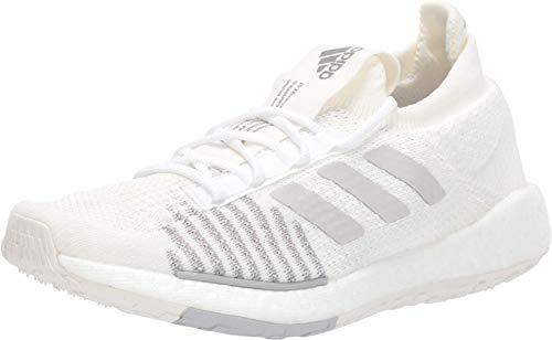 adidas Originals Damen PulseBOOST HD Laufschuh, White Grey Grey, 42 EU