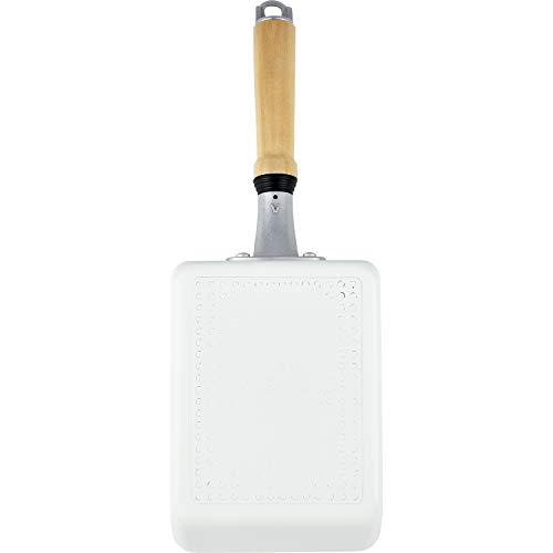 和平フレイズ 底までキレイ加工 玉子焼き器 13×18cm 白 IH対応 RB-1518 オールクリーン 全6サイズ