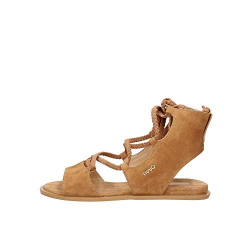 LIU JO Donna Sandalo Elegante Thea 09 Tan Mod. LIUSA0107 P0021 41