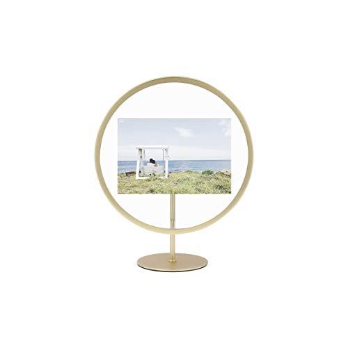 Umbra Infinity Bilderrahmen, Mattes Messing, 13 x 18 cm