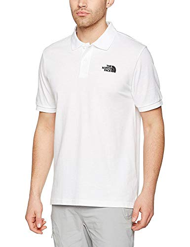 The North Face, M Polo Piquet, Polo, Uomo, Bianco (Tnf White), XL