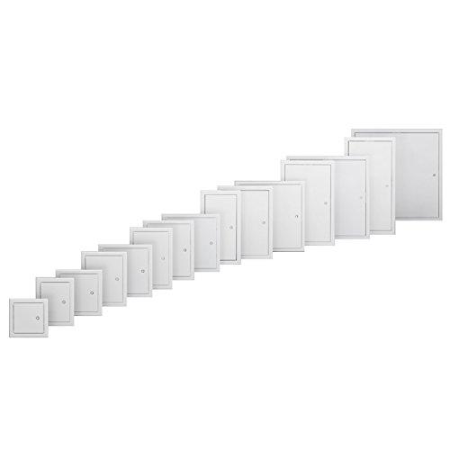 RUG SEMIN Revisionstür Softline | 400 x 400 mm | weiß grundiert | für Decken- und Wandmontage