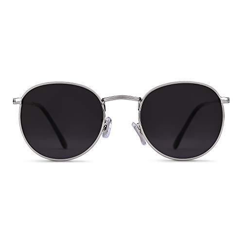 GIFIORE Runde Sonnenbrille polarisierte verspiegelte Sonnenbrille trendige Unisex Brille