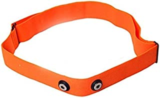 Replacement Chest Strap, Orange, Soft Strap for Polar – Size M-XXL – Suitable for H1, H2, H3, H6, H7, H10