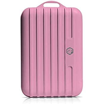 Sketchfab SF-120 10000 mAh Power Bank for All The Smart Phones (Pink)