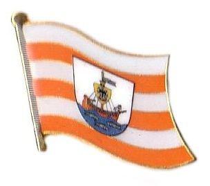 Flaggen Pin Wismar Fahne Flagge Anstecknadel