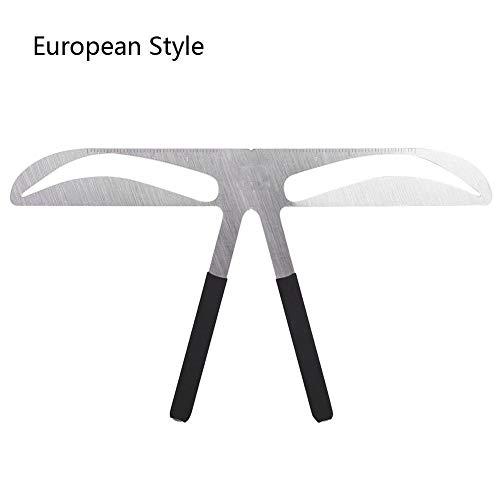 Sourcils Équilibre Règle, Samfox Permanent Sourcils Mesure Équilibre Règle Extension Forme Outils Sourcils Stencil Style Européen
