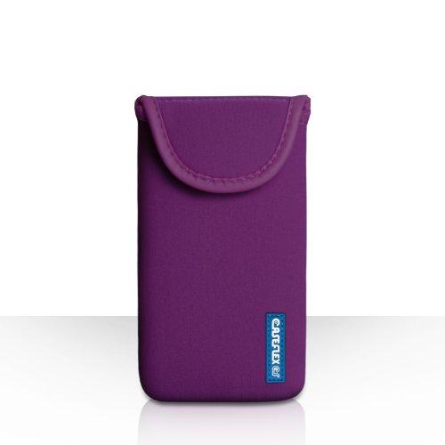 Caseflex Kompatibel FürHTC U11 Plus Tasche Weiß Neoprene Beutel Hülle