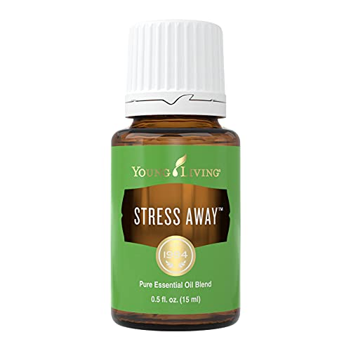 Young Living Stress Away Essential Oil Blend - with Lime, Cedarwood, Vanilla, and Lavender - 15 ml