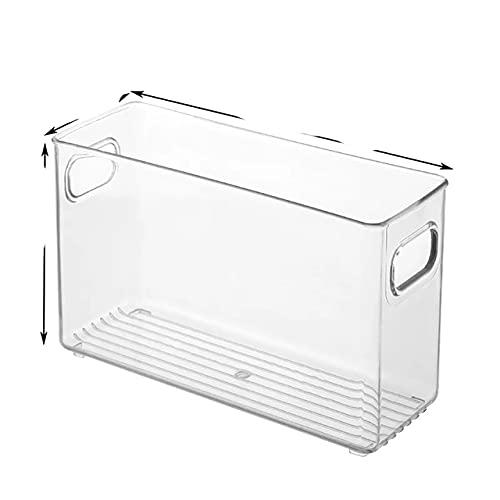 Caja de almacenamiento para refrigerador Cajón transparente para gabinete de cocina PET Huevo Organizador de alimentos Recipiente para frutas y verduras, Juego de 3 piezas-Estilo alto, China