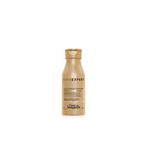 L'Oréal - Champú de serie profesional Absolut Repair, con Gold Quinoa y...