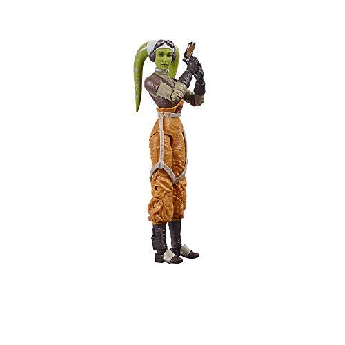 Star Wars The Black Series Hera Syndulla 15 cm große Rebels Action-Figur zum Sammeln, Kids ab 4 Jahren