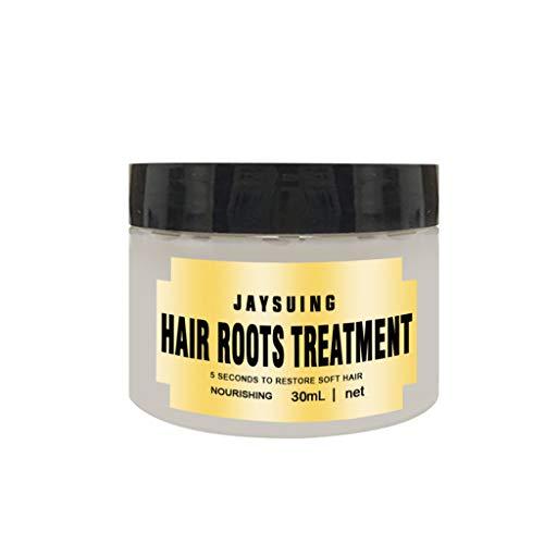 Fheaven 30ML Hair Detoxifying Cream Hair Mask Advanced Molecular Hair Roots Treatmen Recover Elasticity Hair White