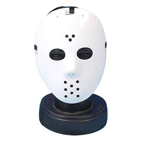 Gifts 4 All Occasions Limited SHATCHI-1149 Shatchi-White Hockey Jason vs Freddy Maske Halloween Karneval Party Masquerade Fasching Fun
