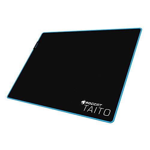 Roccat Taito Control Gaming Mauspad - Total-Control Oberfläche, extra stark vernähter Rand, gummierte Unterseite, hochwertiges Material (400mm x 320mm x 3mm)