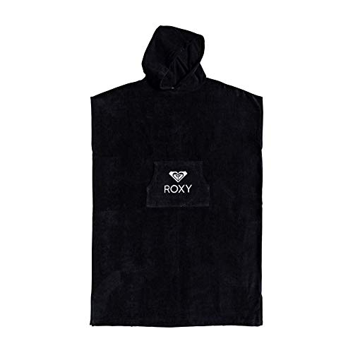 Roxy Stay Magical - Poncho-Toalla para Surf Poncho-Toalla para Surf, Mujer, Anthracite, 1SZ