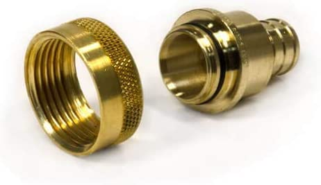 Zero Lead Brass, 25//Each Viega PureFlow Crimp Tee 46433