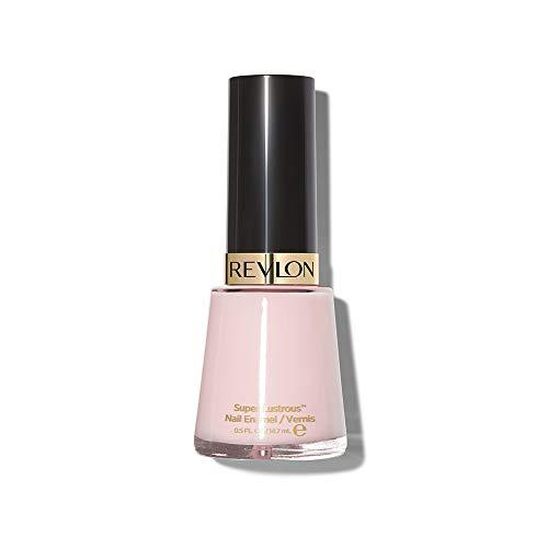 Revlon Nail Enamel, Chip Resistant Nail Polish, Glossy Shine Finish, in Nude/Brown, 909 Sheer Petal, 0.5 oz