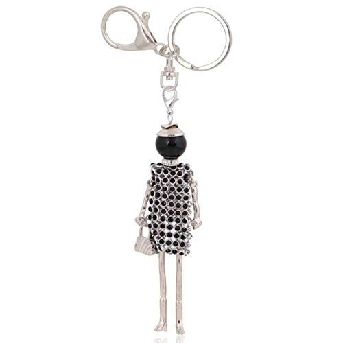LIANYG key chains bag keyrings charms ladies keychains for women pendants car key chain ring gifts