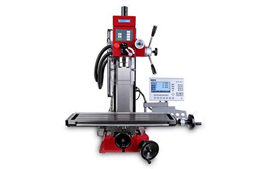 PAULIMOT Bohr-/Fräsmaschine SIEG SX3L mit Gewindeschneid-Funktion und Messsystem