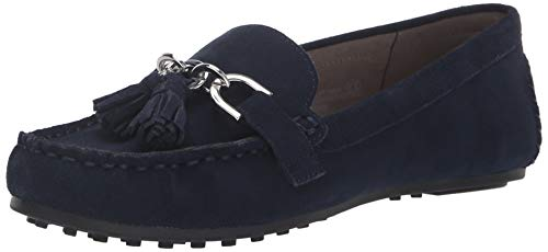 Aerosoles Women's Soft Drive Loafer, navy suede, 7.5 M US
