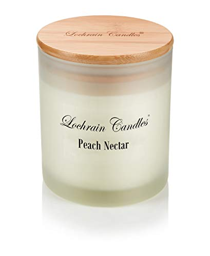 Lochrain Candles Soy Wax Scented Candles - PEACH NECTAR - Eco Friendly...