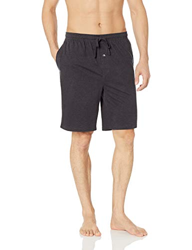 Amazon Essentials Herren Schlafanzug-Shorts gestrickt, anthrazit, US XS (EU XS)