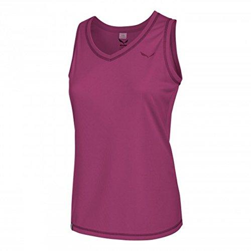 Salewa - PUEZ Dry W Tank T-Shirt - M - Violet - Femme