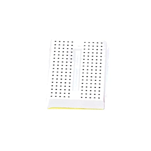 Temhyu Shuxiang-Placa PCB Syb-170 Mini Prototipo sin Soldadura, Prueba de Experimento Breadboard 170 Puntos de Corbata, 35x47x8.5mm para Proyecto electrónico (Color : White)