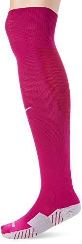 Nike Unisex erwachsene Matchfit Cushioned Sockenstutzen, Violett (Dynamische Beere/Weiß/570), L (42-46 EU)