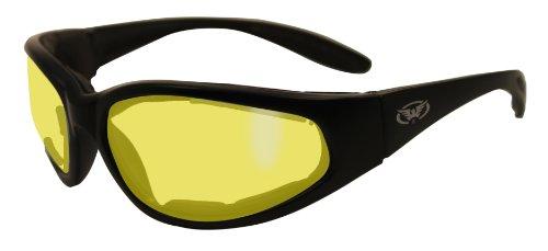Gelb getönt Schiessbrille