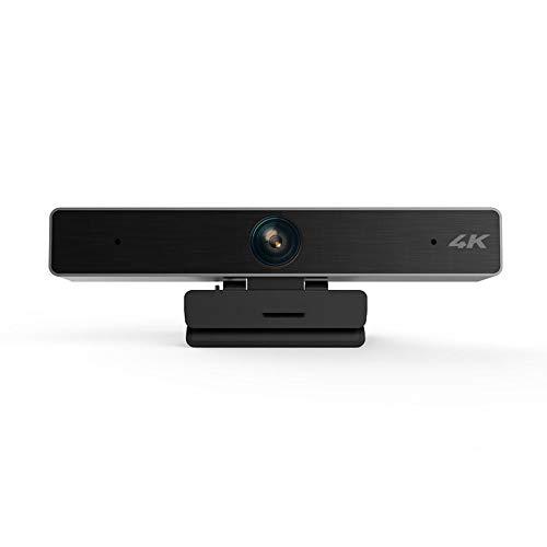 Lx.AZ.Kx Cámara Web HD,Webcam con Micrófono para Pc para Enseñanza En Red, Videoconferencia, Cámara De Computadora con Zoom Digital 5 Veces