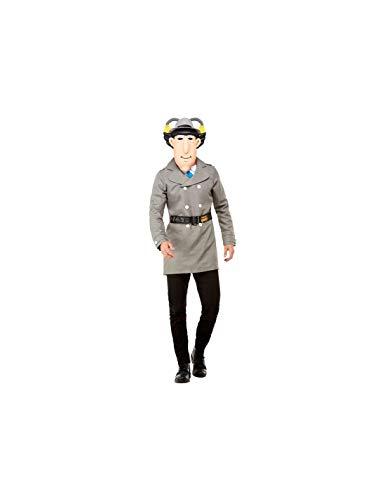 DISBACANAL Disfraz Inspector Gadget Adulto - -, L
