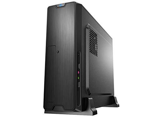 新誕生最新第9世代i5-9400F搭載 ビジネスデスクトップパソコン / グラフィックスカードGT710(4K・3画面出力対応) / DDR4-8GB / 高速&大容量SSD480GB搭載 / スーパーマルチDVDドライブ / Windows10 professional/WPS Office (SSD480, スリムモデル)