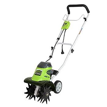 Greenworks 8 Amp 10-Inch Corded Tiller 27072