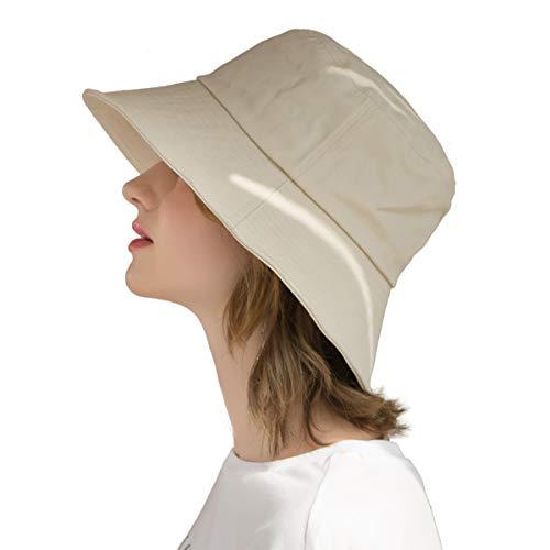 SOMALER Womens Cotton Wide Brim Sun…