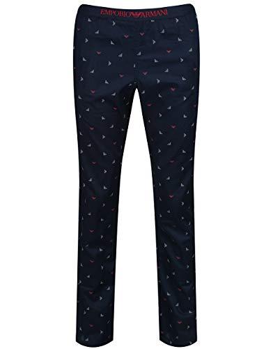 Emporio Armani Woven Pants Pyjamas XX Large Marine Aquile St.