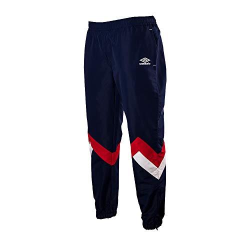 UMBRO Demo Shellsuit Sporthose Herren dunkelblau/rot, L