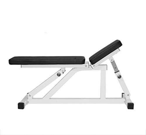 Fitness Equipment Adjustable Weight Lifting Bench Folding Anti-Slip Dumbbell Bench Multifunction Leg Strength Training Bench Ergonomic Design for Gym Indoor etcA