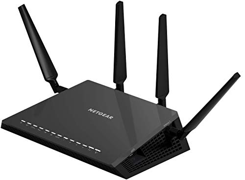 NETGEAR Nighthawk X4S Smart WiFi Router (R7800) - AC2600 Wireless Speed (up to 2600 Mbps) | Up to 2500 sq ft Coverage & 45 Devices | 4 x 1G...