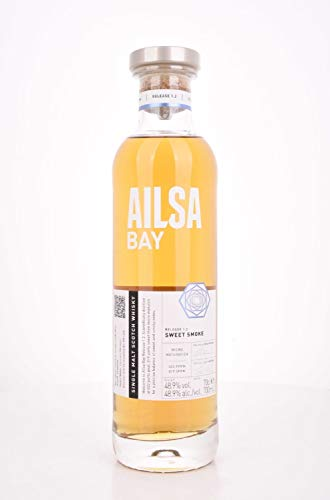 Ailsa Bay SWEET SMOKE Single Malt Scotch Whisky Release 48,90% 0.7 l.