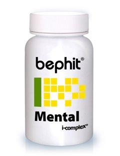 MENTAL ( Garum + Chlorella + Calcio Marino) BEPHIT - 80 cápsulas 540 mg