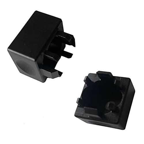 Conjunto de Llaves Plata/Negro/Azul/Gris/Naranja KeyCaps mecánico KeyCaps de aleación de Aluminio Interruptor de interruptores de Metal al Instante para los interruptores de Cereza Teclado Key