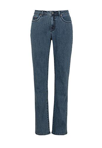 Million X Damen Jeans New Linda Basic W44 L30, mid Stone Denim