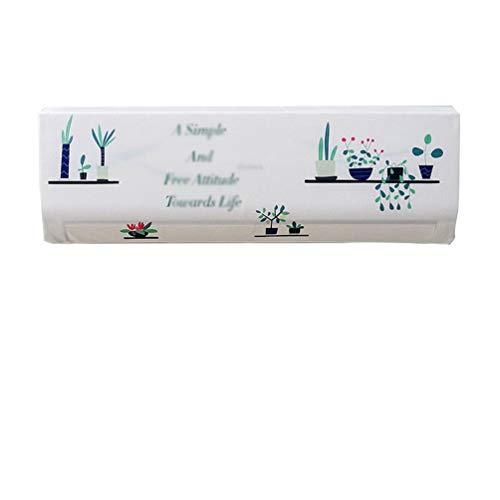 N / A Elastisches Gewebe Klimaanlage Abdeckung Farbdruck Klimaanlage Staubschutz Schutzhülle (Stil 5,80 * 20 * 27cm(1P))