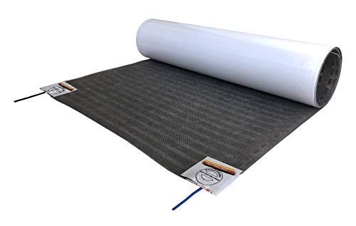 HoWaTech Lux Elektrische Fußbodenheizung | Folienheizung für Parkett Laminat Venyl, Folienlänge & Fläche:2.5m / 1.25m²