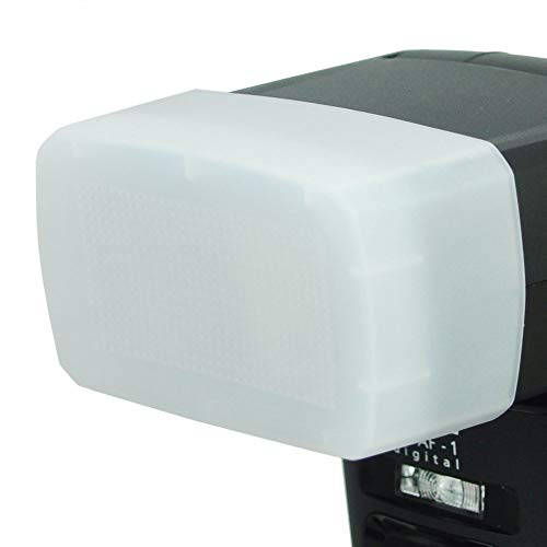 Metz mecabounce Diffuser MBM-03 für Metz mecablitz 64 AF-1   Farbe: weiß, Erzeugt weicheres und natürlicheres Licht, Ideal fuer Portraitfotografie