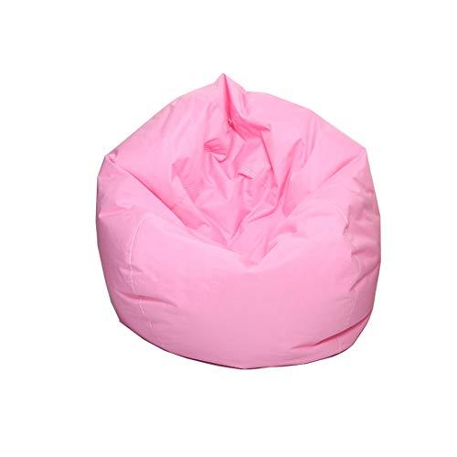 Gaming Beanbags zitzak voor de woonkamer, stijlvolle beanbag, voor volwassenen en kinderen 60x65cm roze